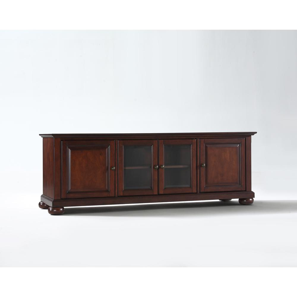 Alexandria 60 Quot Low Profile Tv Stand In Vintage Mahogany Finish