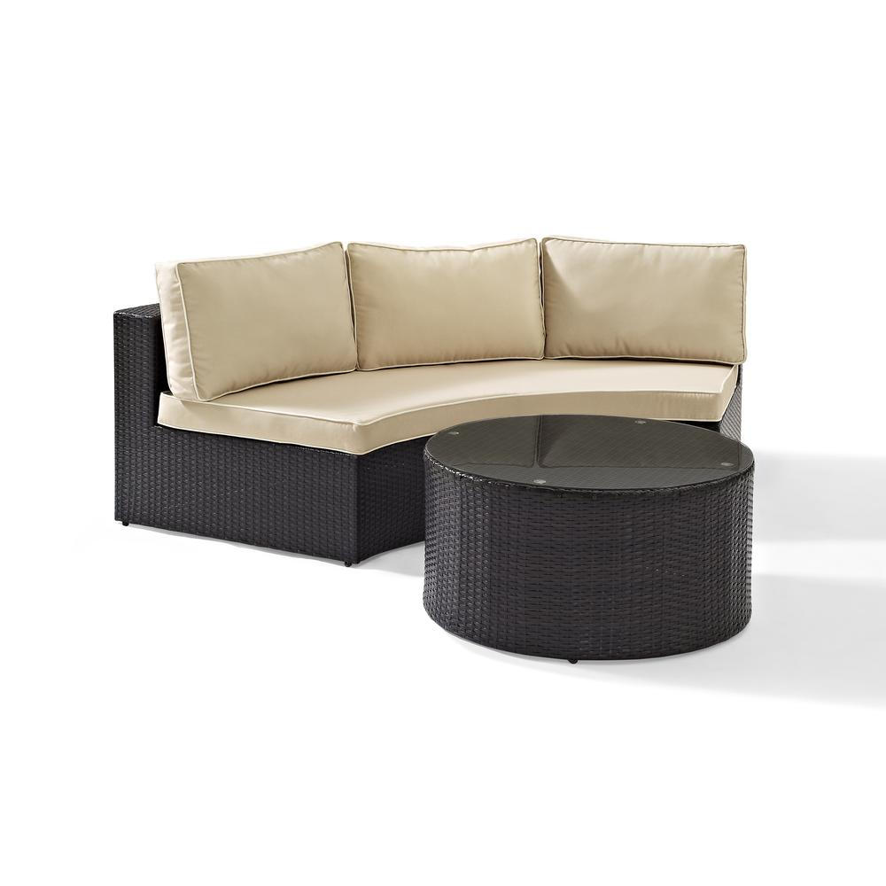 Catalina 2pc Outdoor Wicker Sectional