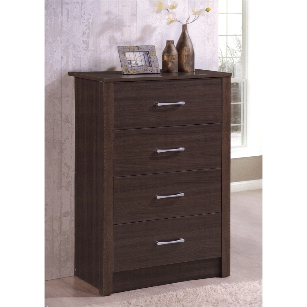 4 Drawer Chest Chocolate H40 3 Quot