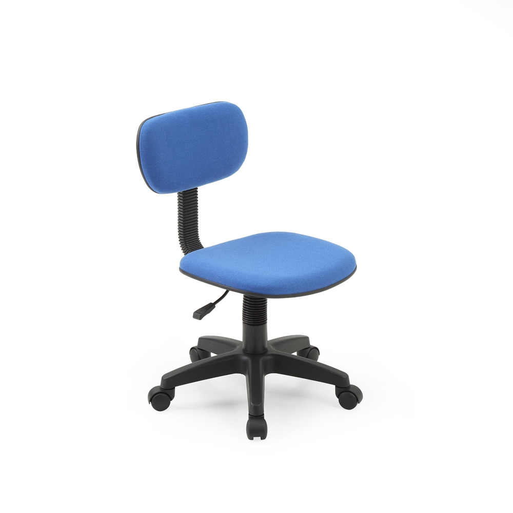 Armless Task Chair Blue H28 32 7 Quot