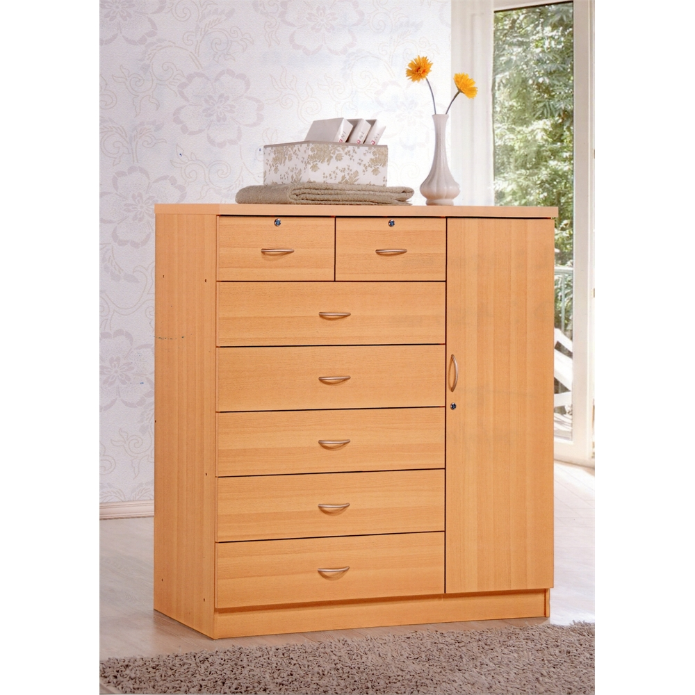 baskets for kitchen cabinets 7 drawer chest w 1 door beech h48 6 quot 10964