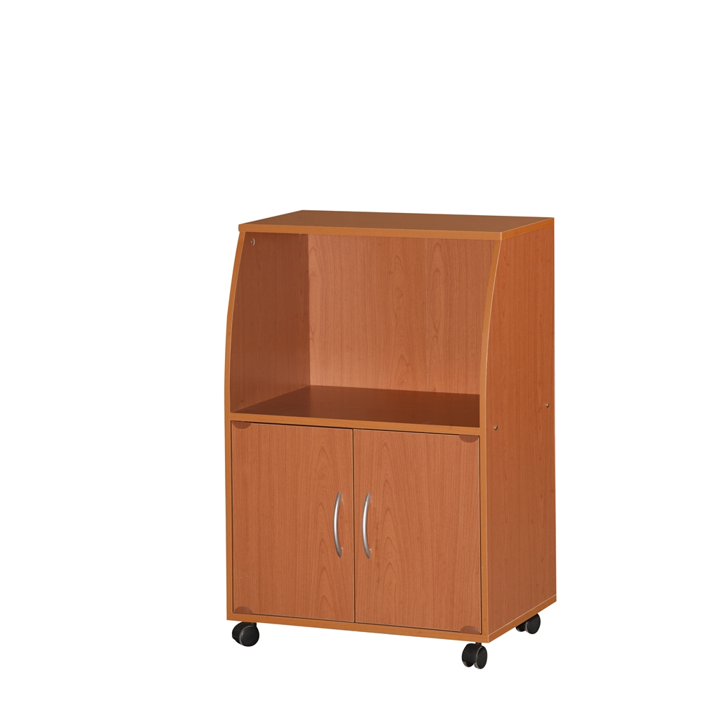 baskets for kitchen cabinets microwave cart cherry h33 quot 10964
