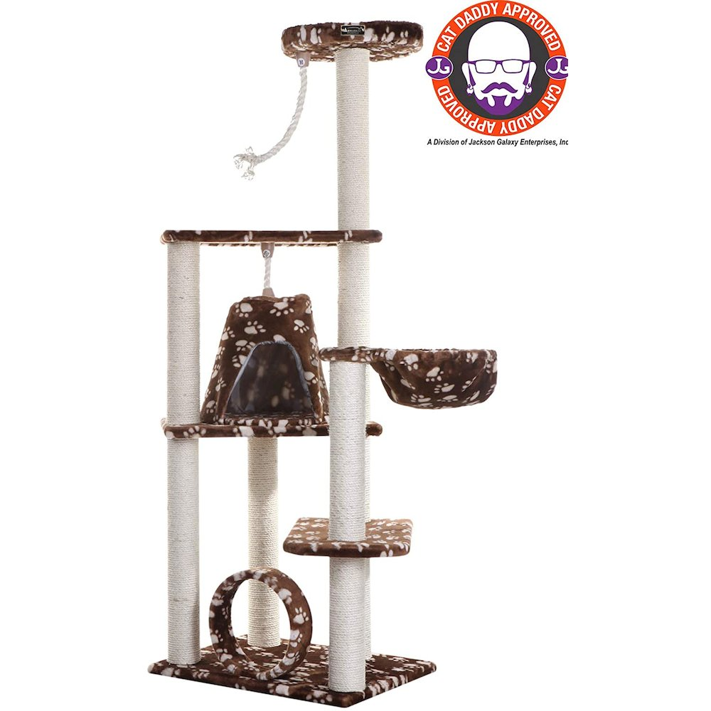 Model A6601 Classic Cat Tree with Four Play Features, Jackson Galaxy Approved. Picture 6