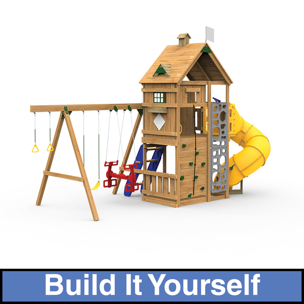 Legacy build it yourself gold play set for Treehouse kits do it yourself