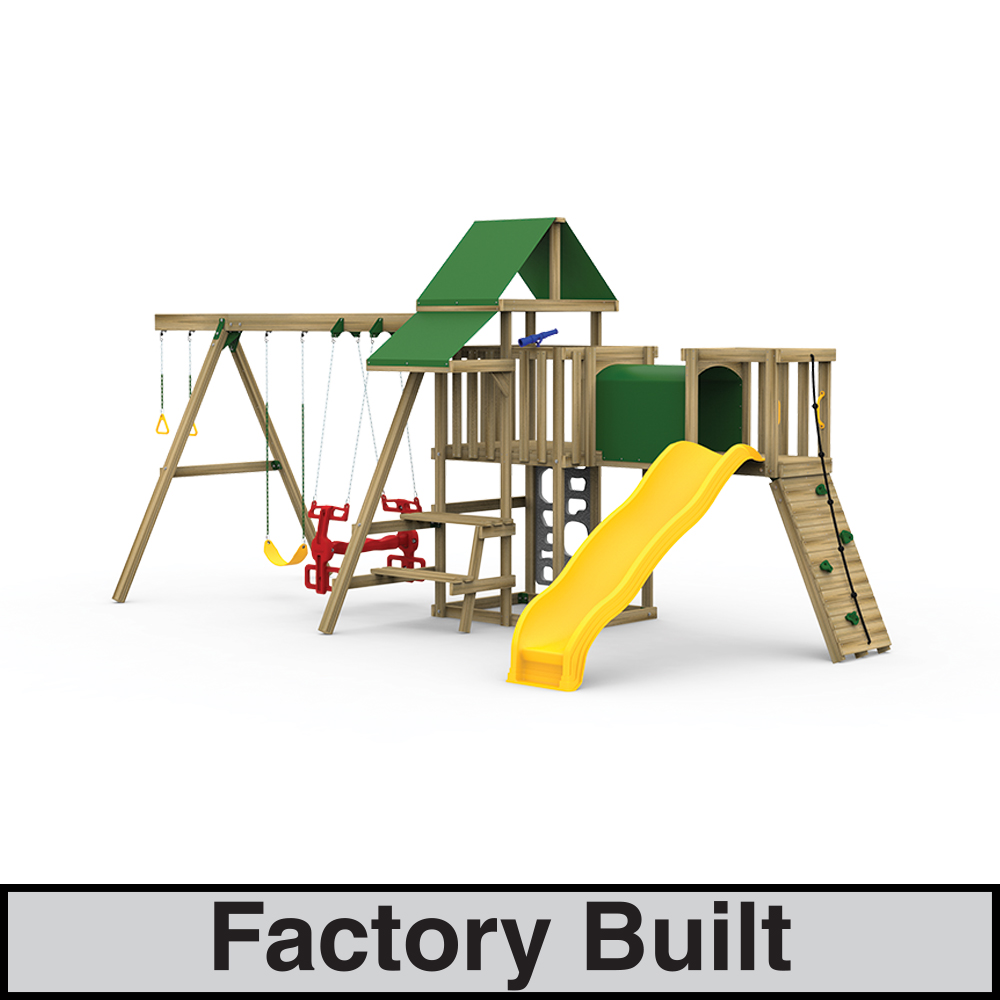 Varsity Factory Built Silver Play Set