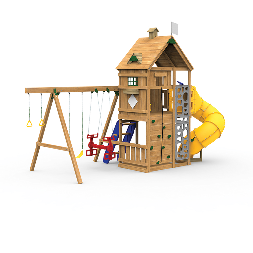 Legacy build it yourself gold play set for Build it yourself swing set