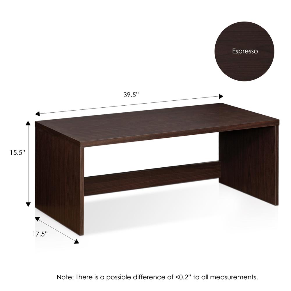 Indo  Low Rise Tatami Writing Desk, Espresso. Picture 2
