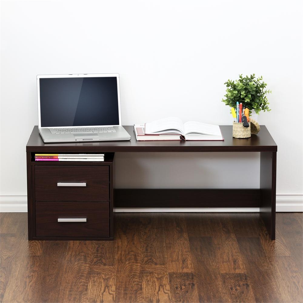 Indo  Low Rise Tatami Writing Desk, Espresso. Picture 4