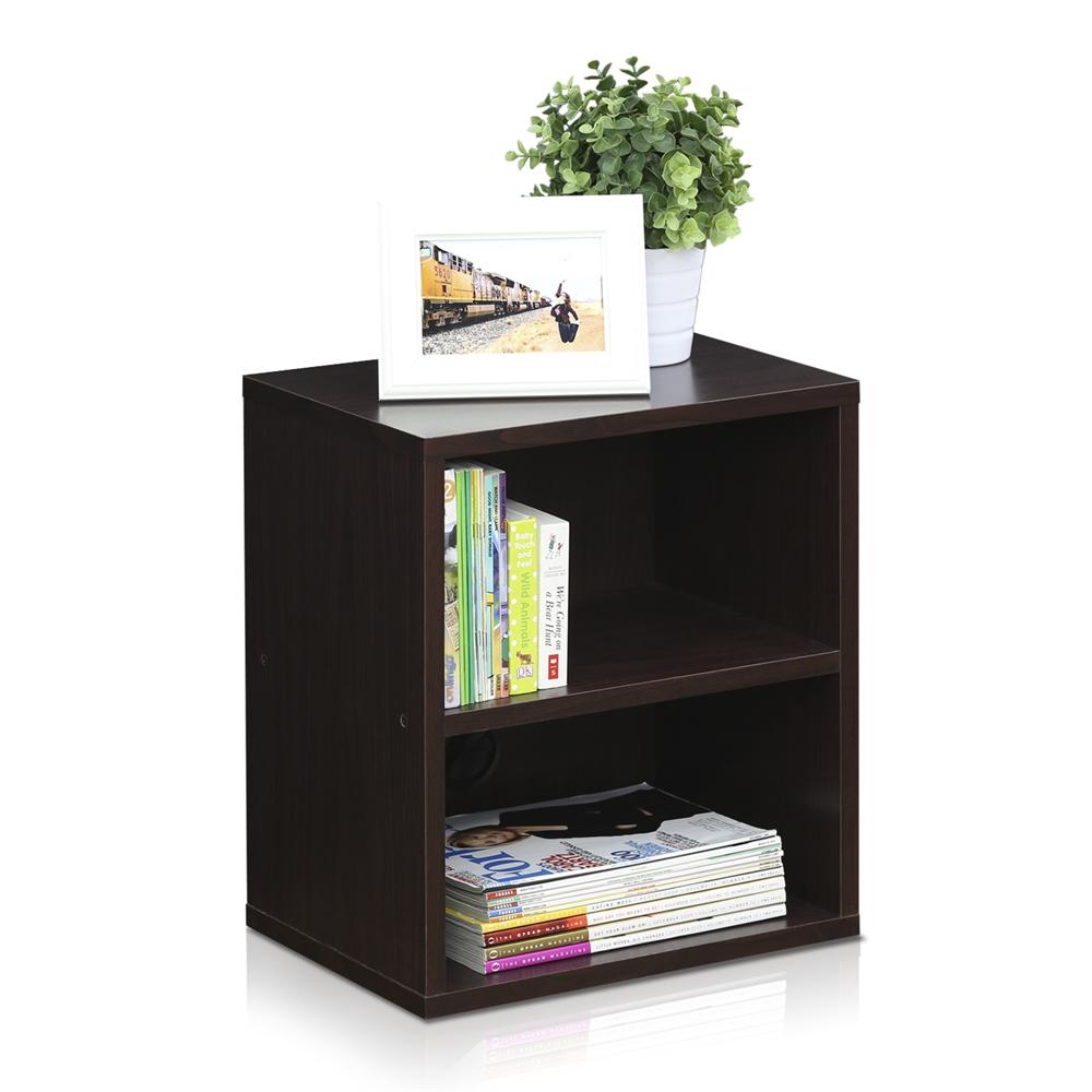 Indo  3-Tier Petite Audio Video Display Shelf, Espresso. Picture 3