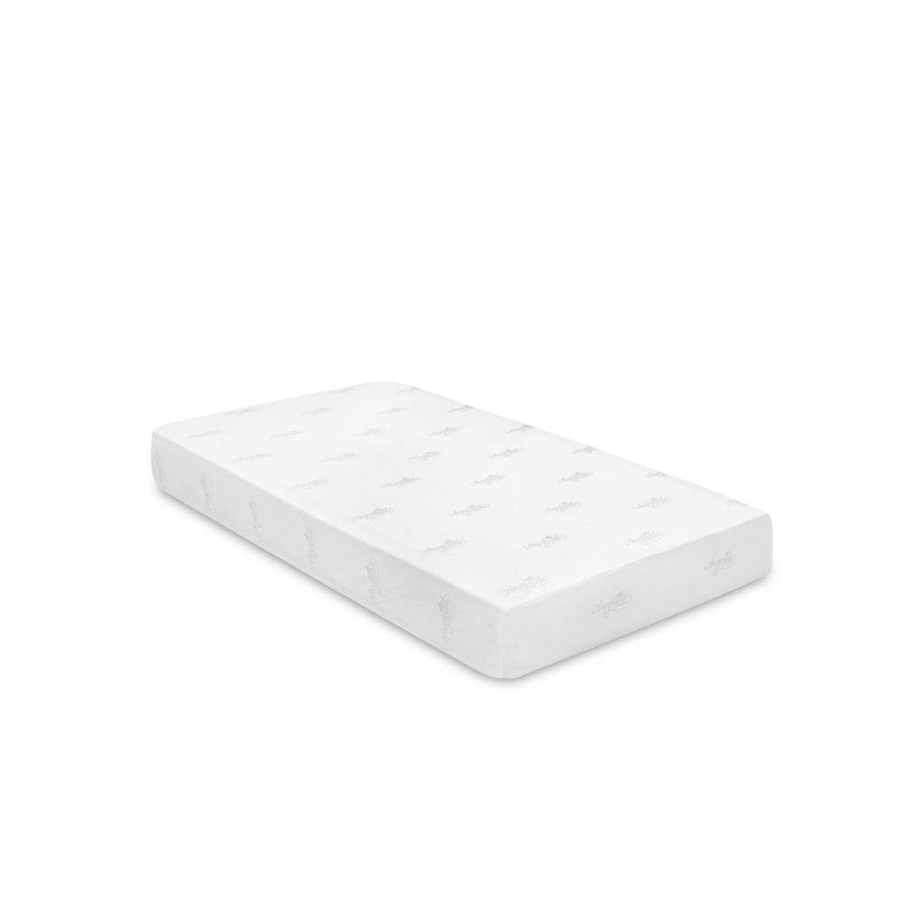 angeland 8 inch gel infused memory foam mattress twin. Black Bedroom Furniture Sets. Home Design Ideas