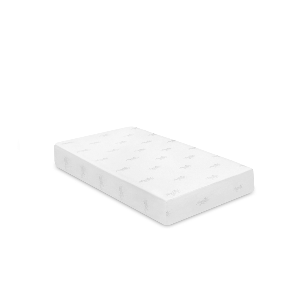 Angeland Luxury 10-Inch Bamboo Charcoal Infused Memory Foam Mattress, Twin,. Picture 1