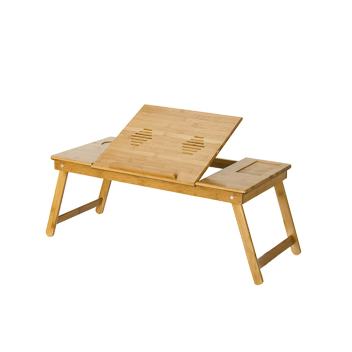 Nature Bamboo Mobile & Laptop Tray. Picture 1