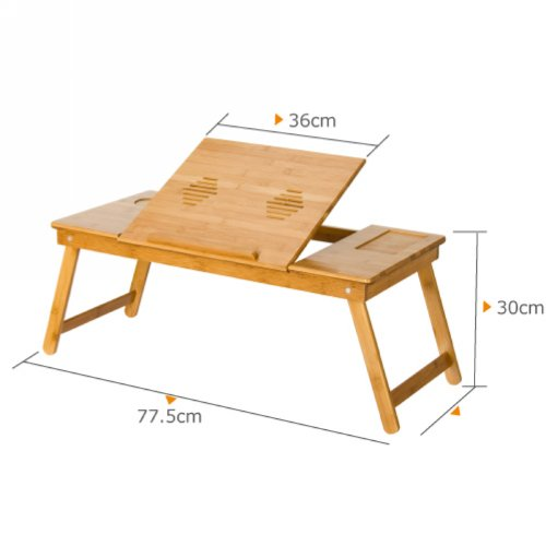 Nature Bamboo Mobile & Laptop Tray. Picture 2