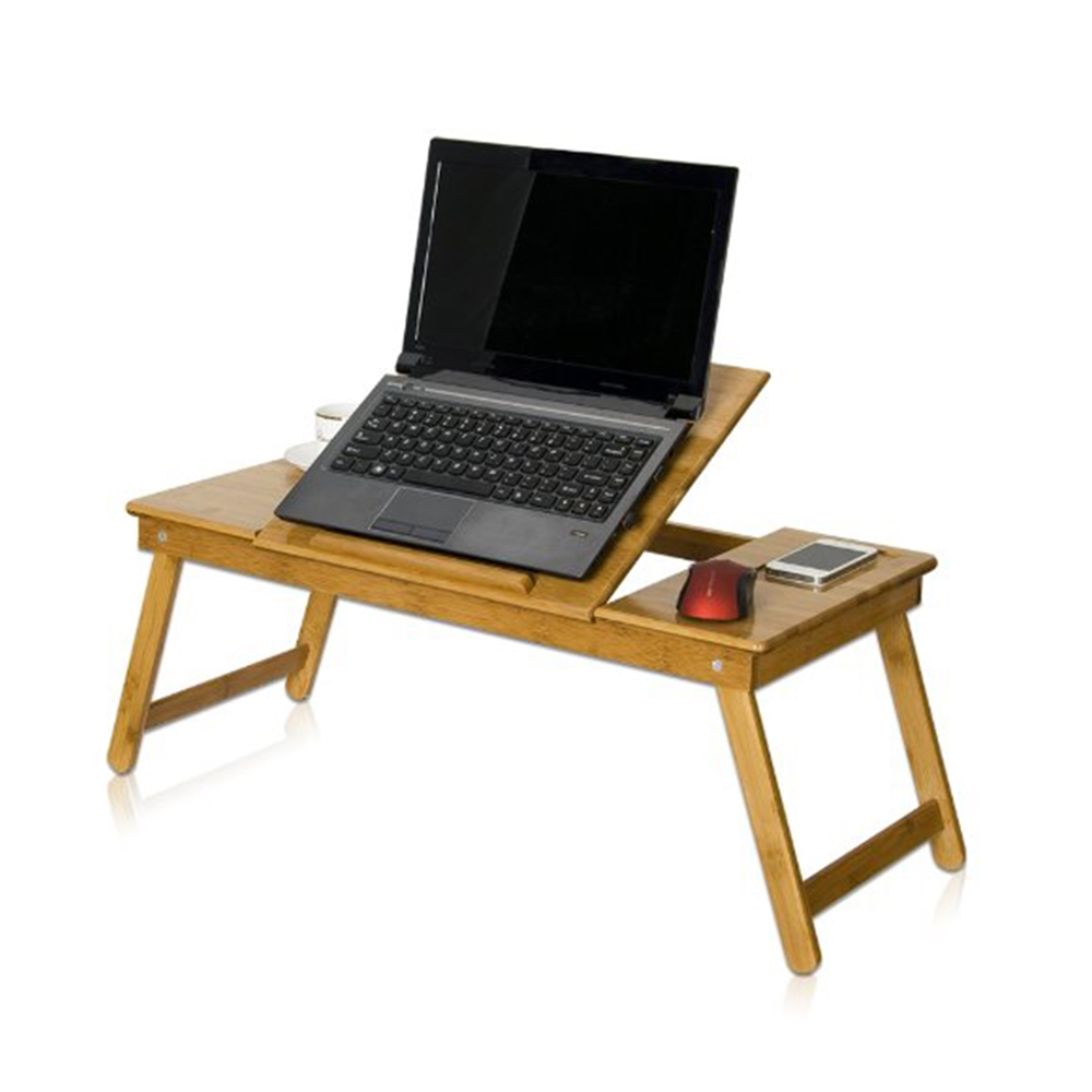 Nature Bamboo Mobile & Laptop Tray. Picture 4