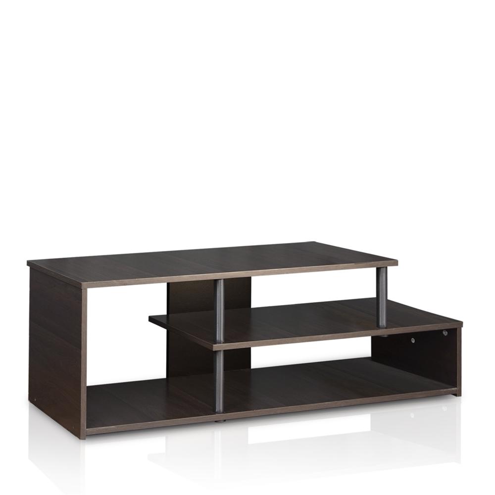 Econ Low Rise TV Stand, Espresso. Picture 1