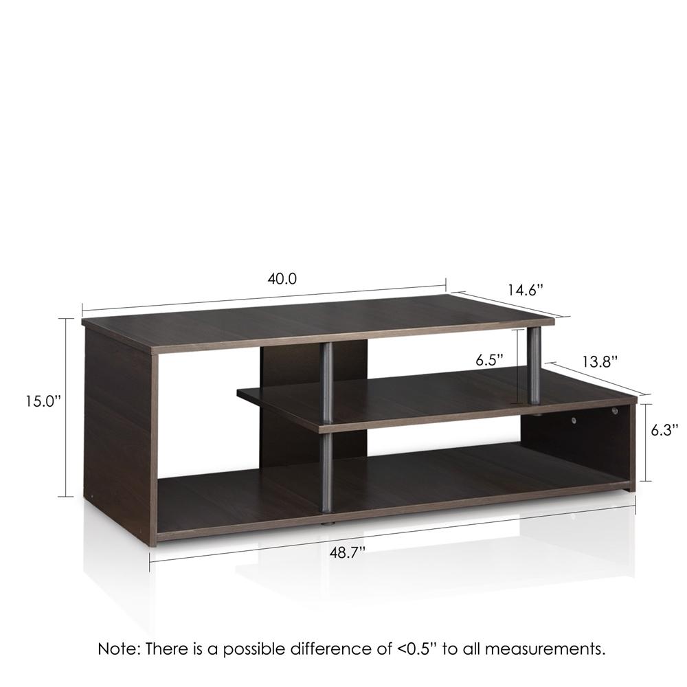 Econ Low Rise TV Stand, Espresso. Picture 2