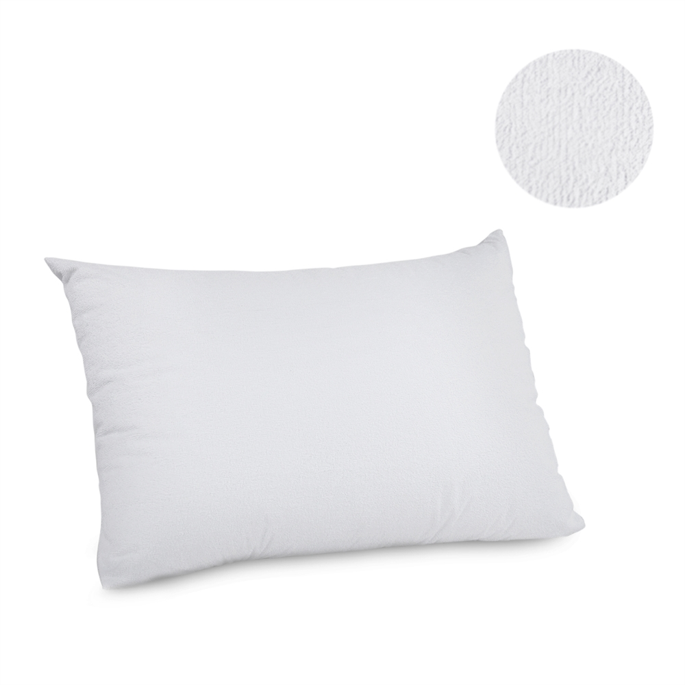 Angeland Terry Cloth Waterproof Pillow Protector, King, Pack of 2. Picture 2