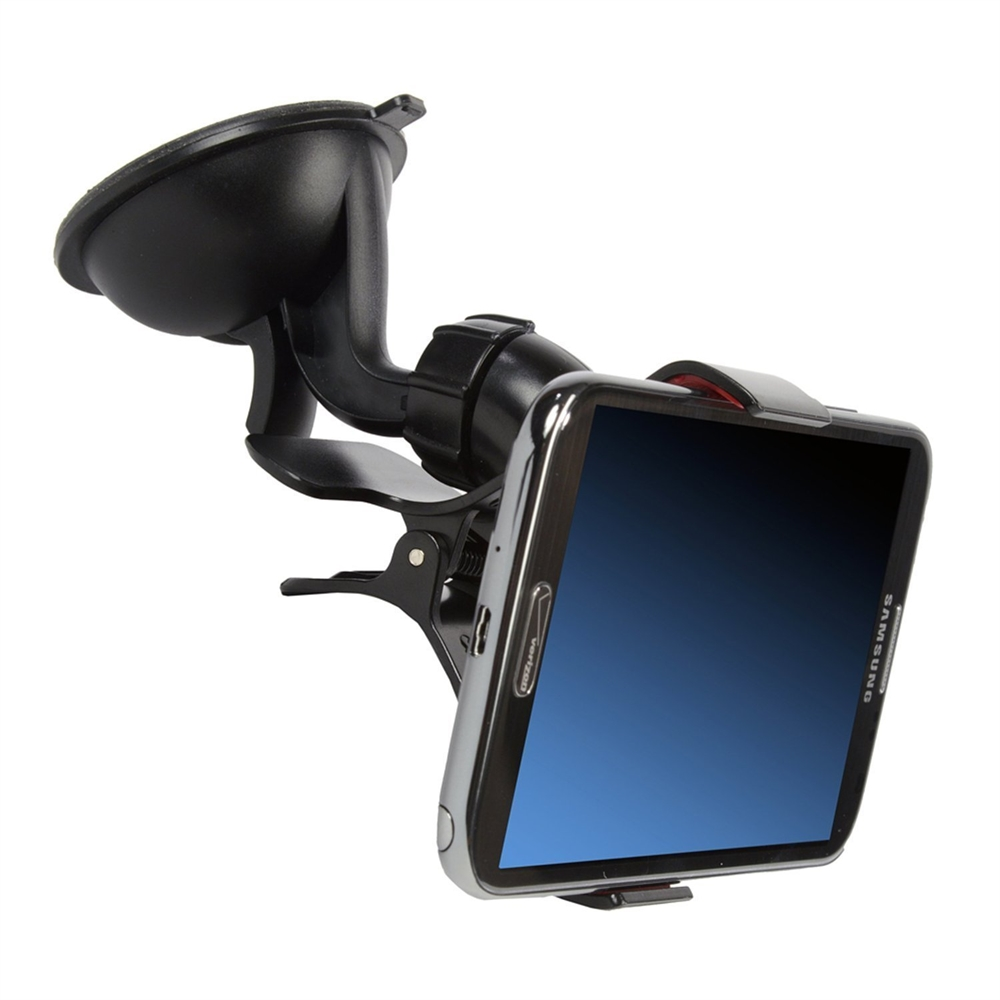 Easy Mount Suction Universal Car Phone Mount Holder, Black. Picture 3