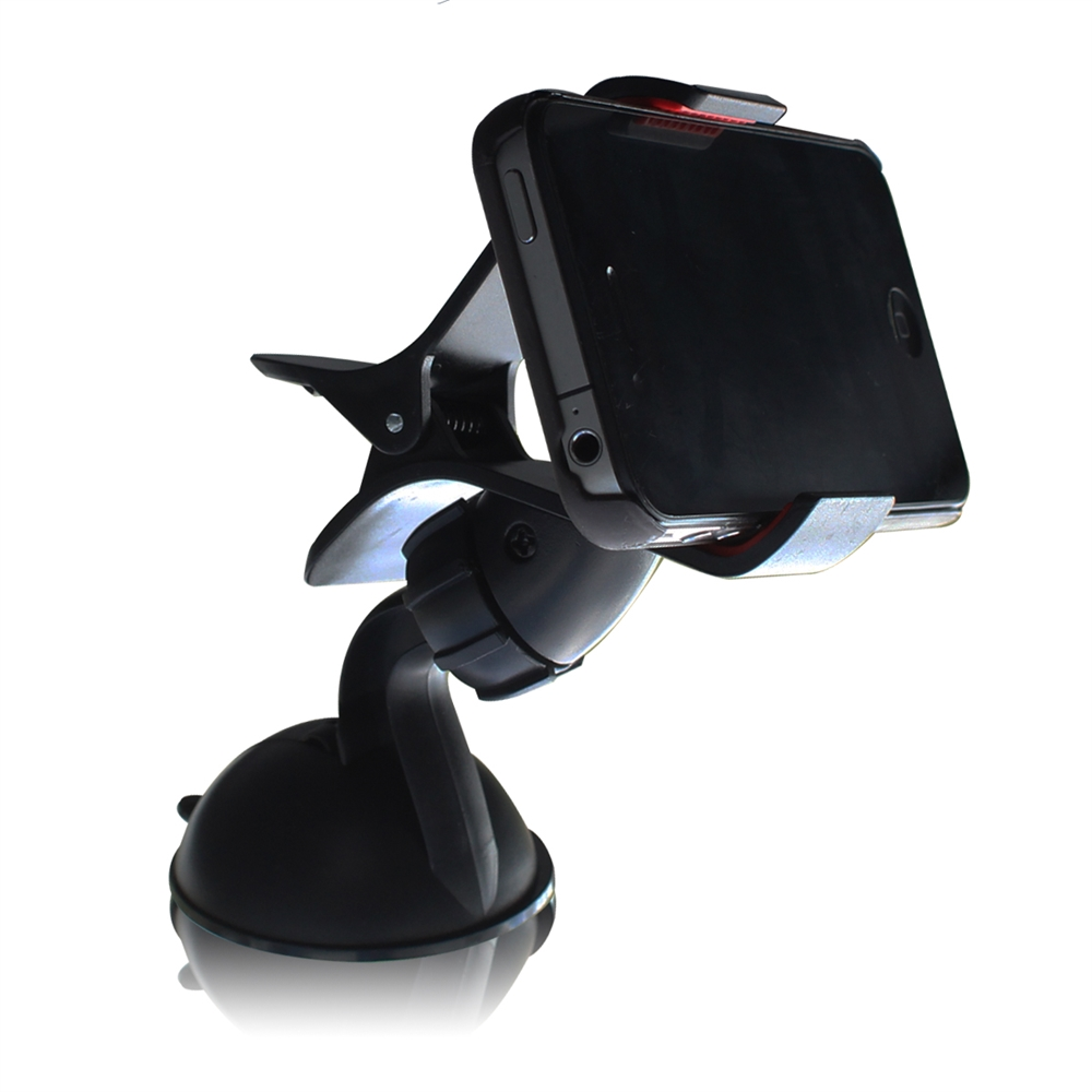 Easy Mount Suction Universal Car Phone Mount Holder, Black. Picture 7