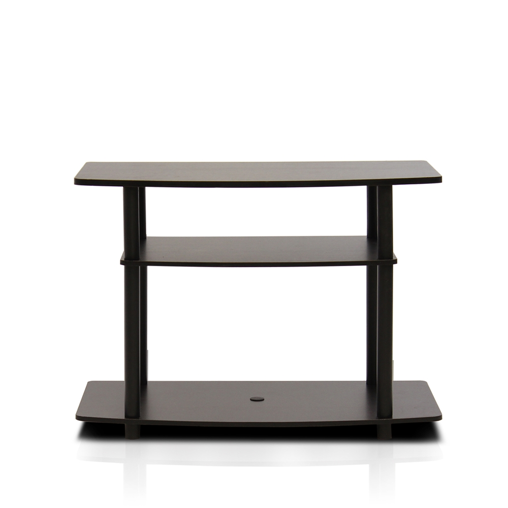 Turn-N-Tube No Tools 3-Tier TV Stands. Picture 1