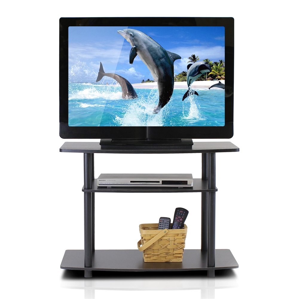 Turn-N-Tube No Tools 3-Tier TV Stands. Picture 3