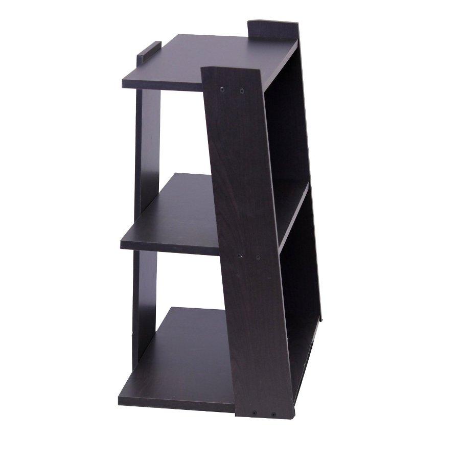 Hidup Tropika Mini Ladder Shelf, Espresso. Picture 4