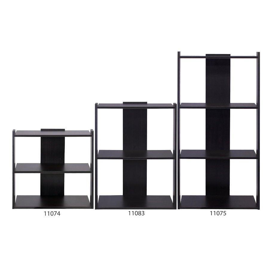 Hidup Tropika Mini Ladder Shelf, Espresso. Picture 5