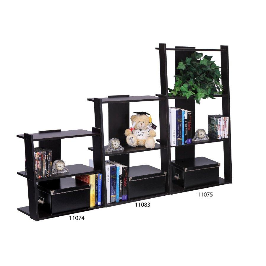 Hidup Tropika Mini Ladder Shelf, Espresso. Picture 6