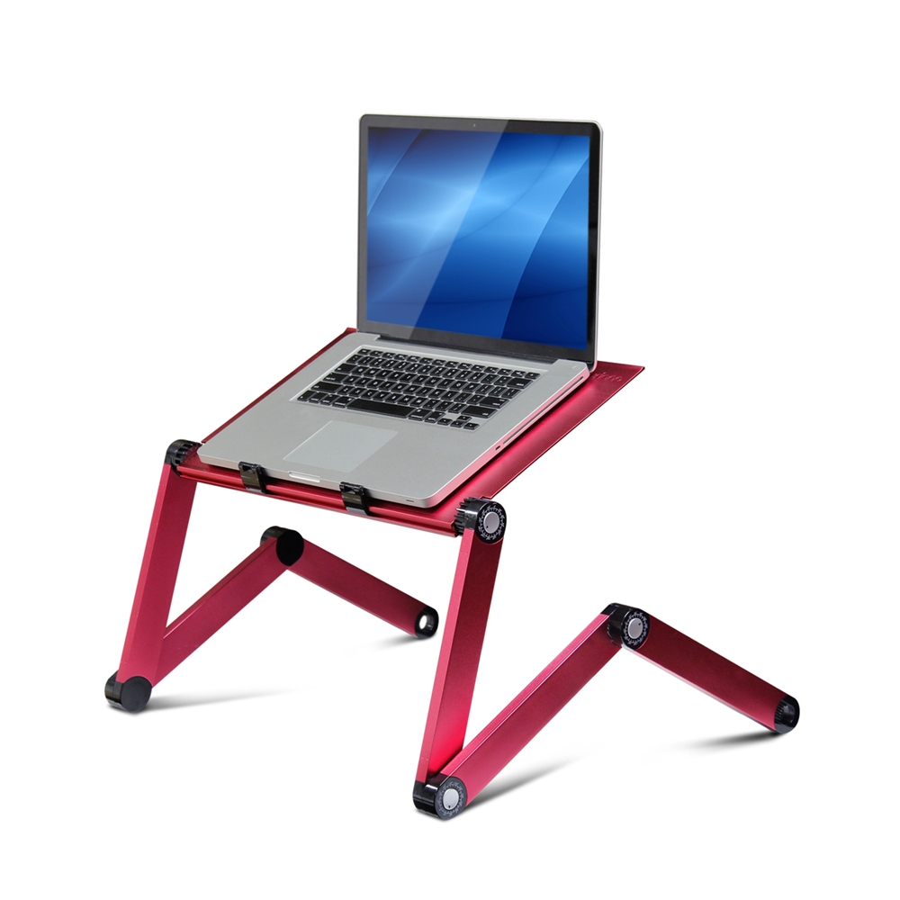 Aluminum Adjustable Portable Notebook Laptop Table W