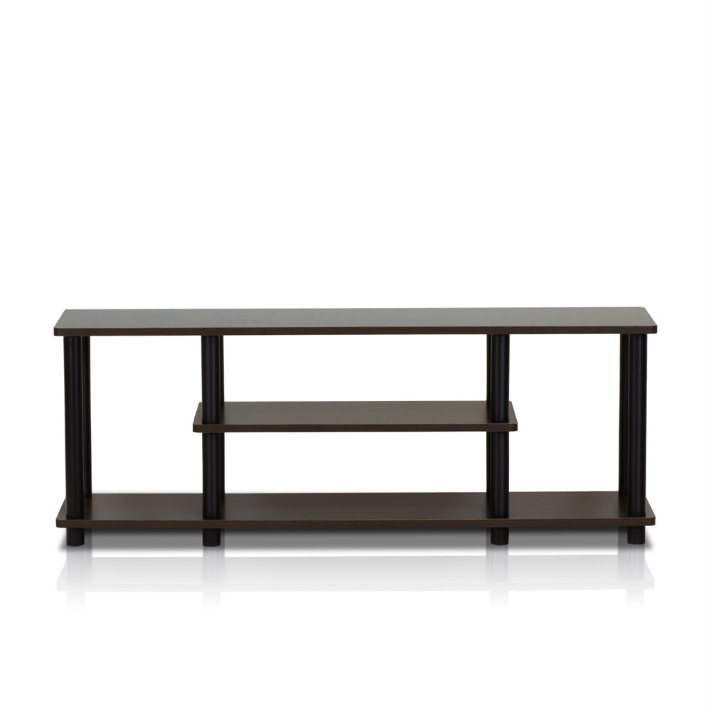 Turn-N-Tube No Tools 3-Tier Entertainment TV Stands. Picture 1
