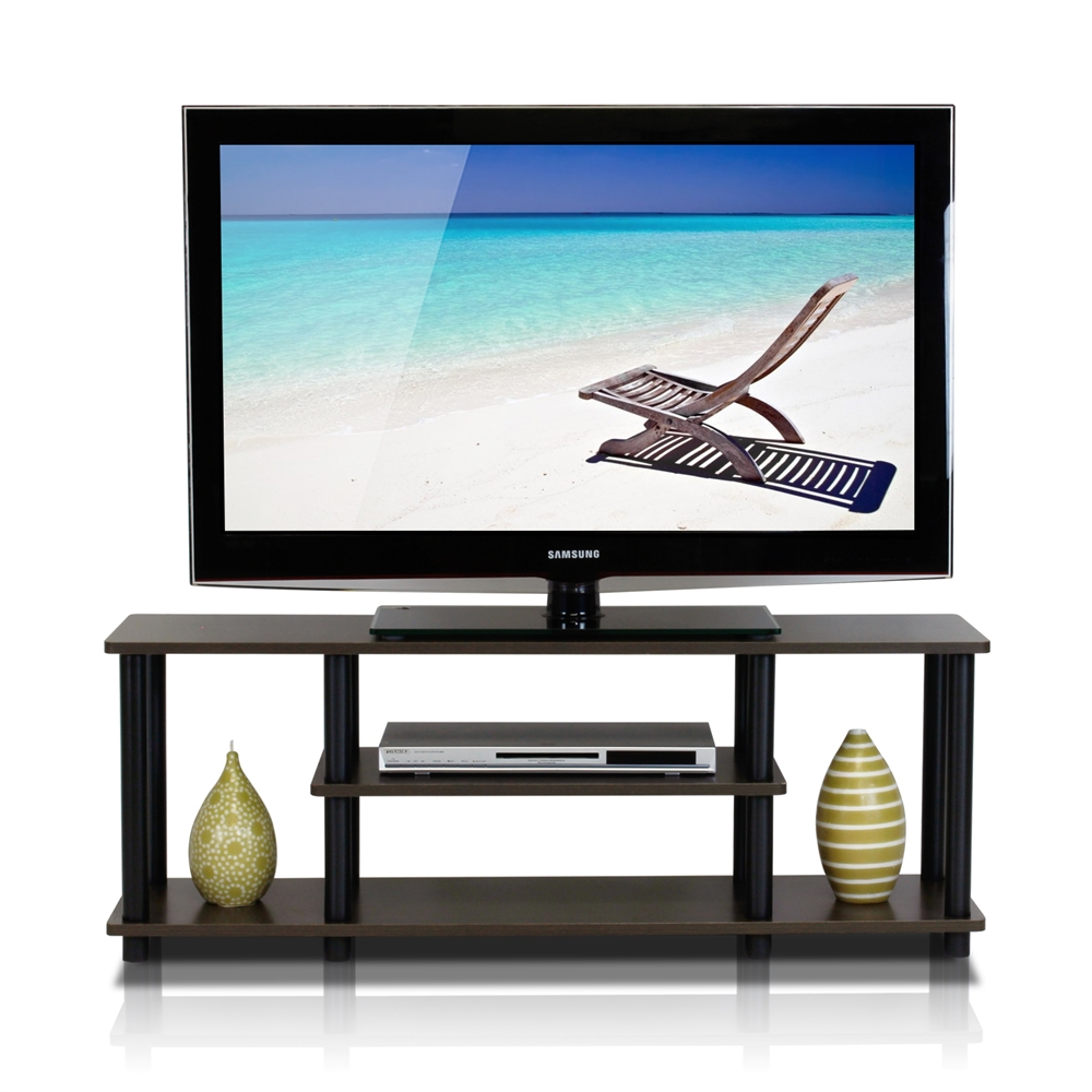 Turn-N-Tube No Tools 3-Tier Entertainment TV Stands. Picture 3