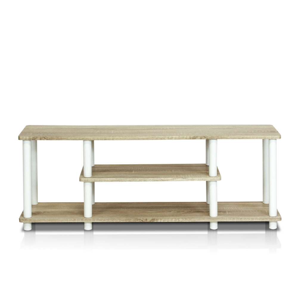 Turn-N-Tube No Tools 3D 3-Tier Entertainment TV Stands. Picture 1
