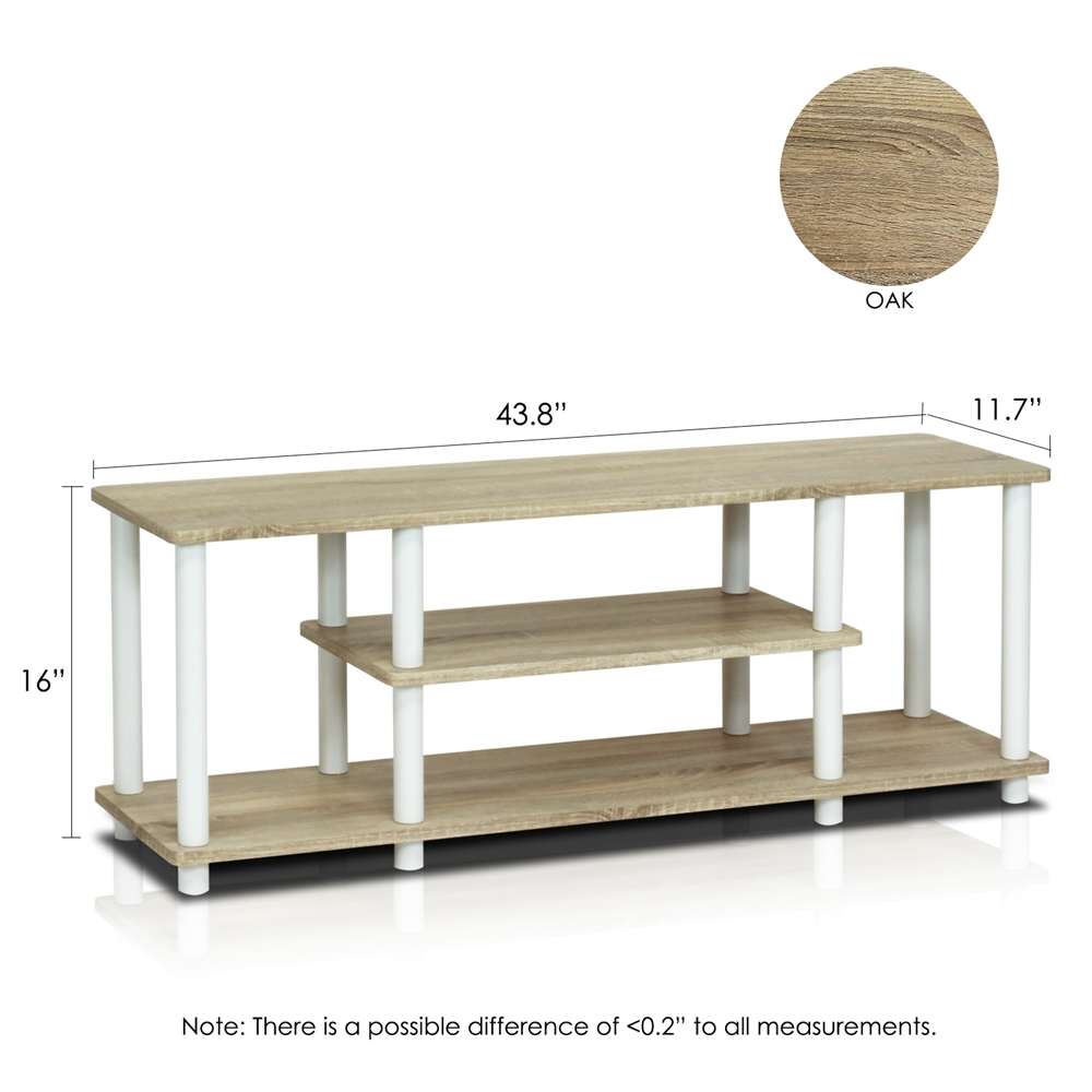Turn-N-Tube No Tools 3D 3-Tier Entertainment TV Stands. Picture 2