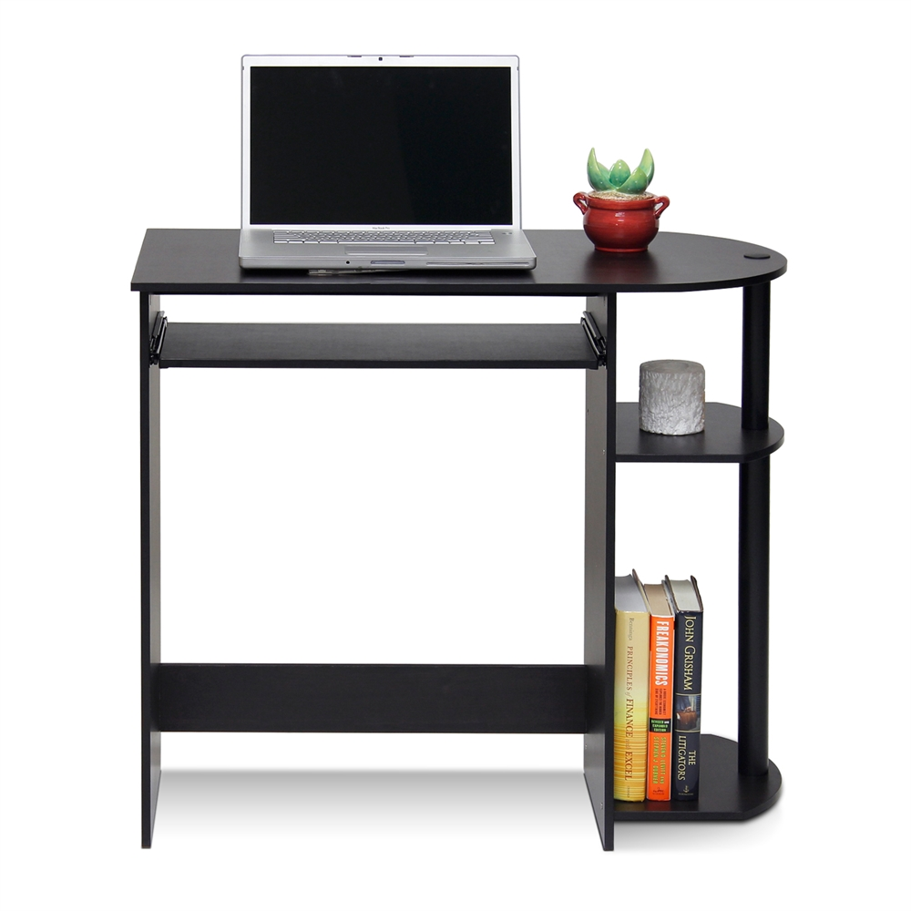 Easy Assembly Computer Desk Espresso