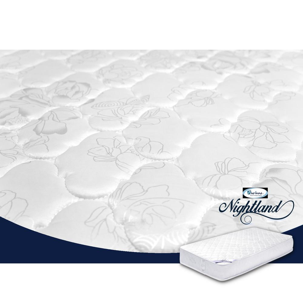 Furinno Nightland 10-Inch Luxurious Pocket Coil Mattress, King. Picture 2