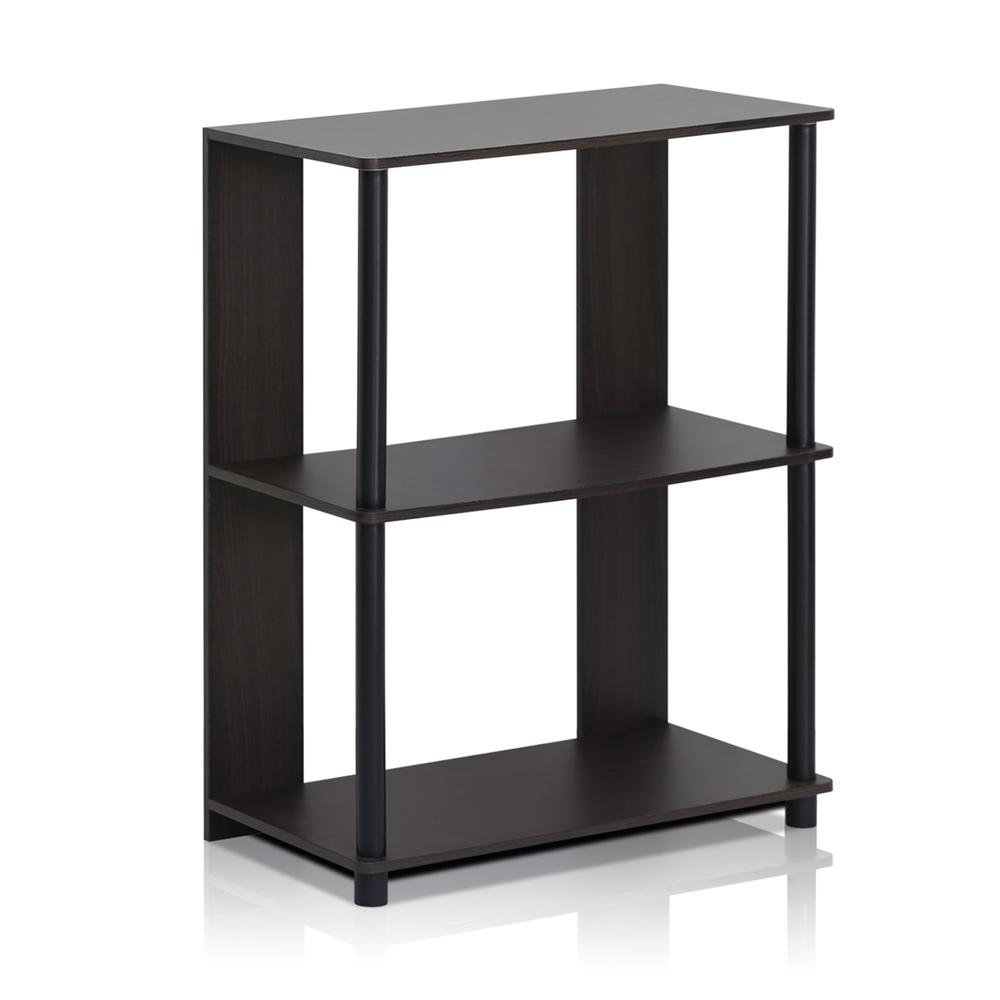 JAYA Simple Design Bookcase, Walnut,. Picture 1