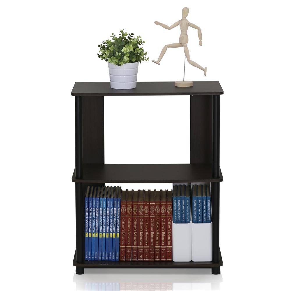 JAYA Simple Design Bookcase, Walnut,. Picture 4
