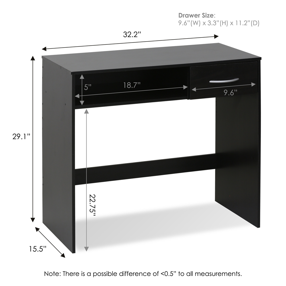 JAYA Computer Study Desk with Drawer. Picture 2