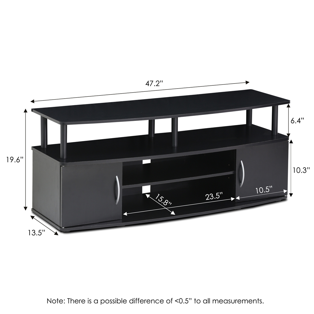 JAYA Large Entertainment Center Hold up to 50-IN TV,. Picture 2