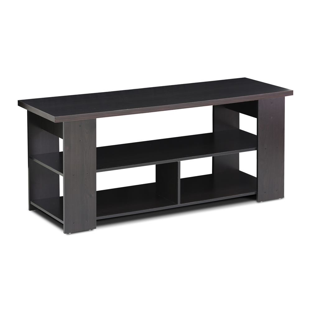 15118 JAYA TV Stand Up To 50-Inch, Espresso. Picture 1