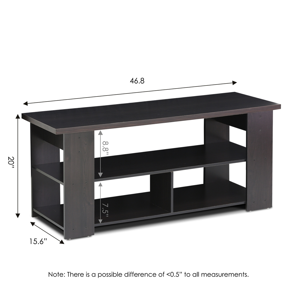 15118 JAYA TV Stand Up To 50-Inch, Espresso. Picture 2