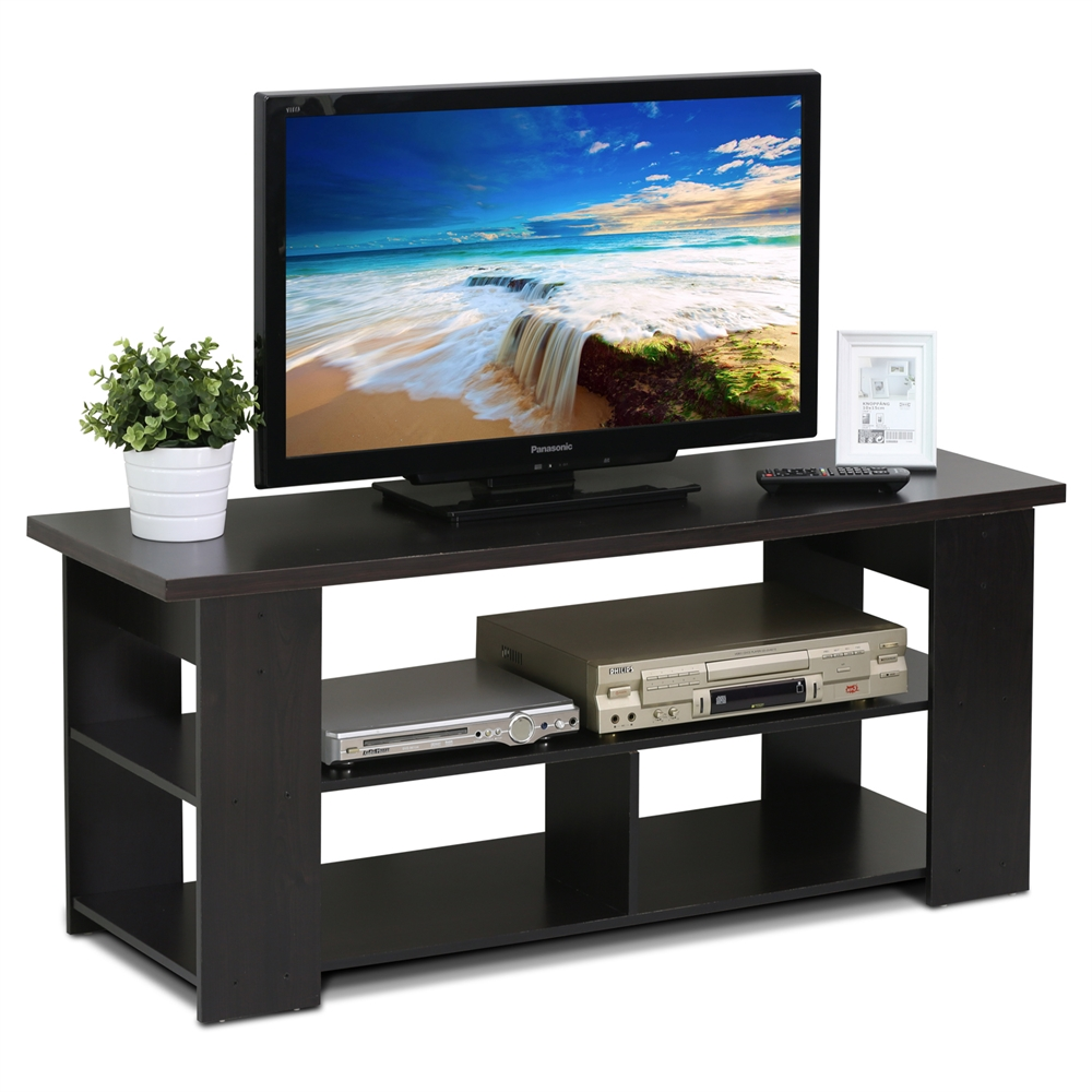 15118 JAYA TV Stand Up To 50-Inch, Espresso. Picture 3