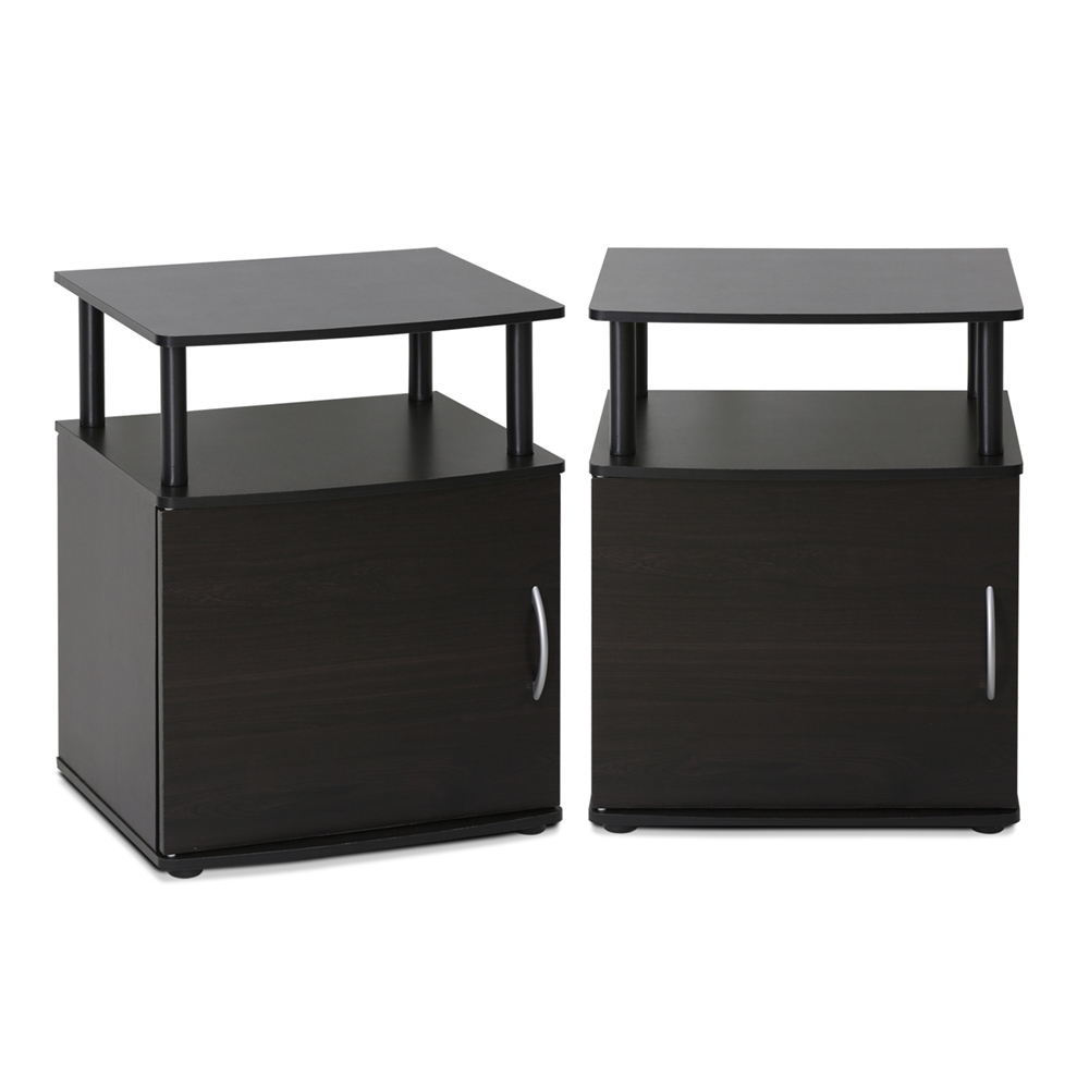 JAYA Utility Design End Table, Set of Two,. Picture 1