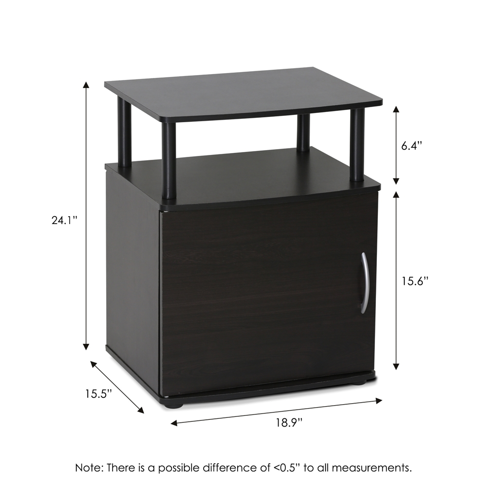 JAYA Utility Design End Table, Set of Two,. Picture 2