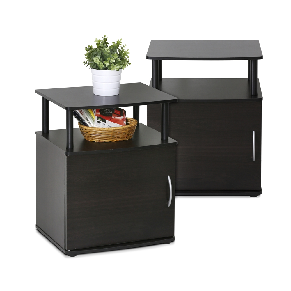 JAYA Utility Design End Table, Set of Two,. Picture 3