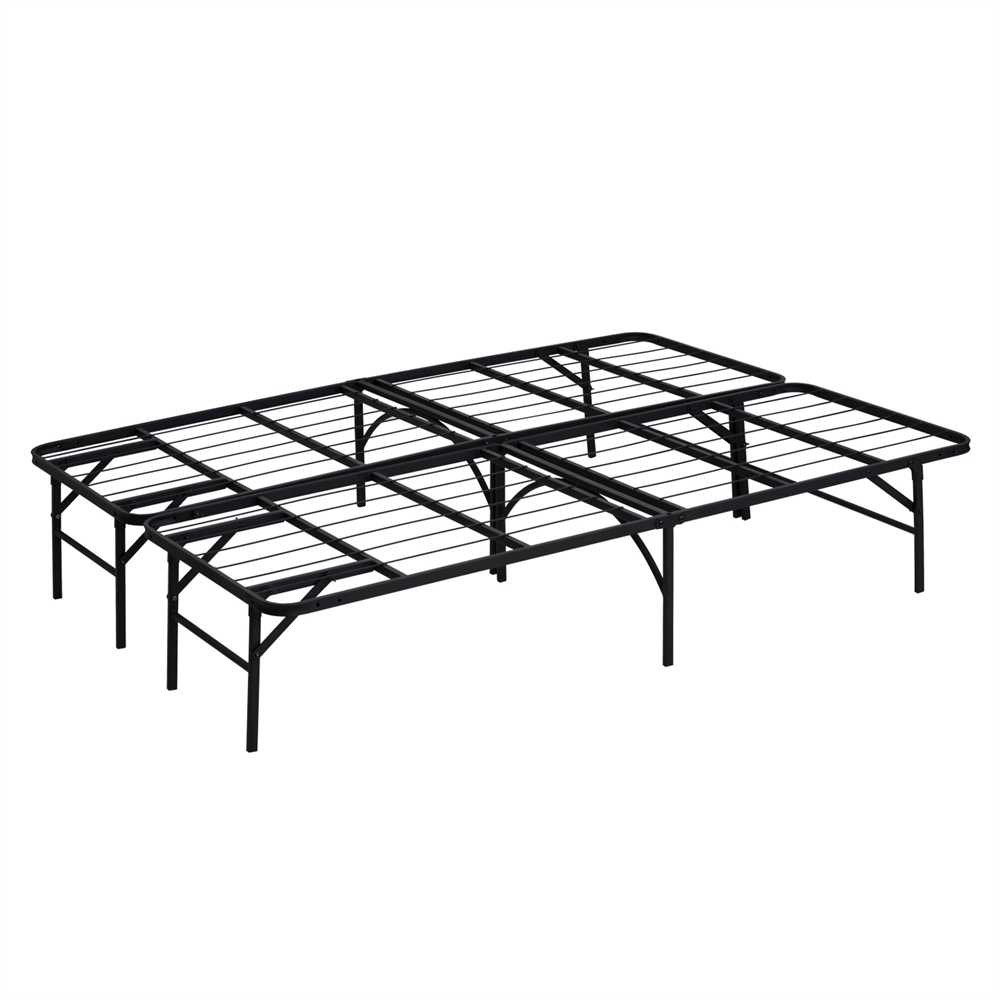 Angeland Mattress Foundation Platform Metal Bed Frame, Full,. Picture 1