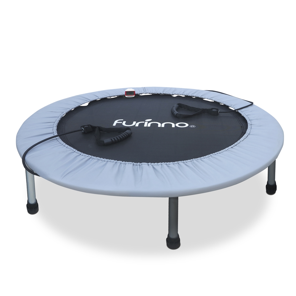 38 Inch Trampoline with Monitor and Resistance Tube. Picture 1