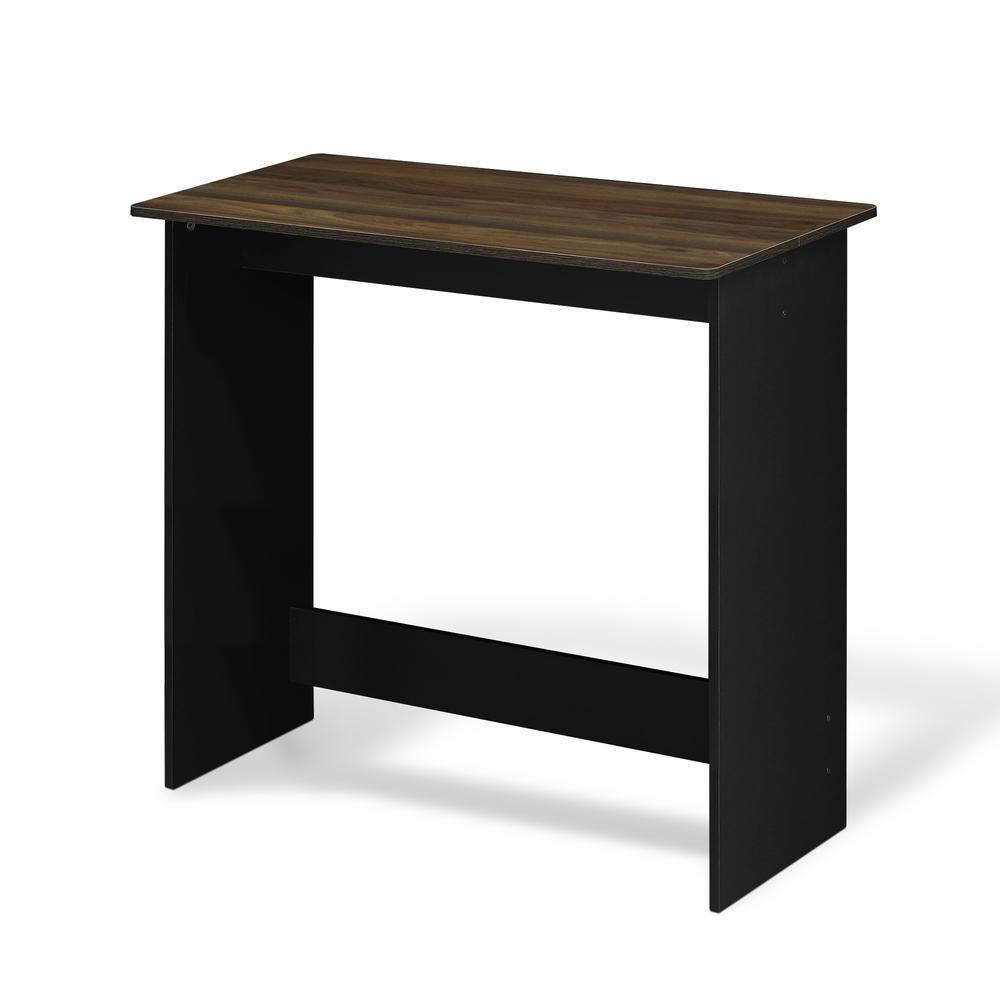Furinno Simplistic Study Table, Columbia Walnut, 14035CWN. Picture 1