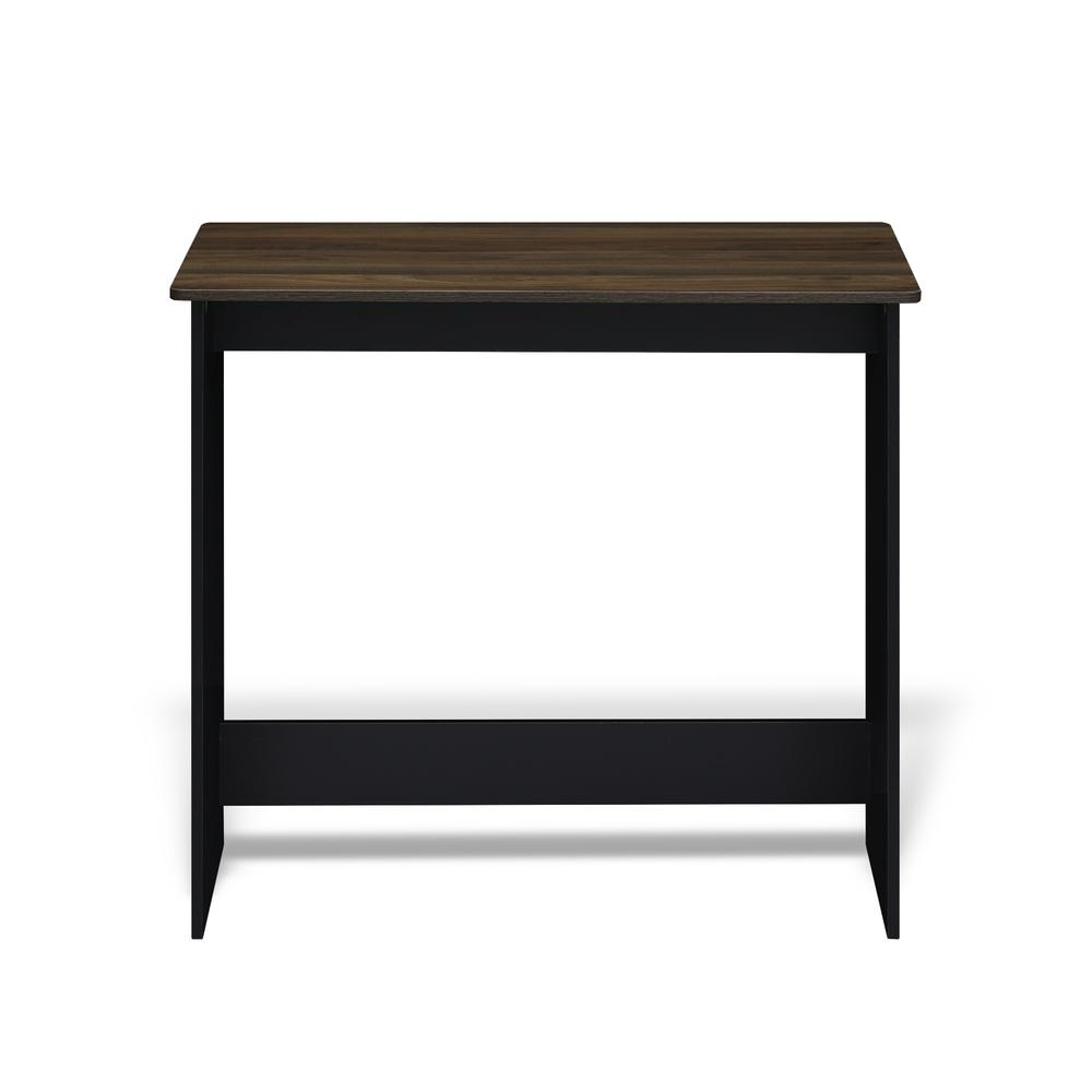 Furinno Simplistic Study Table, Columbia Walnut, 14035CWN. Picture 2