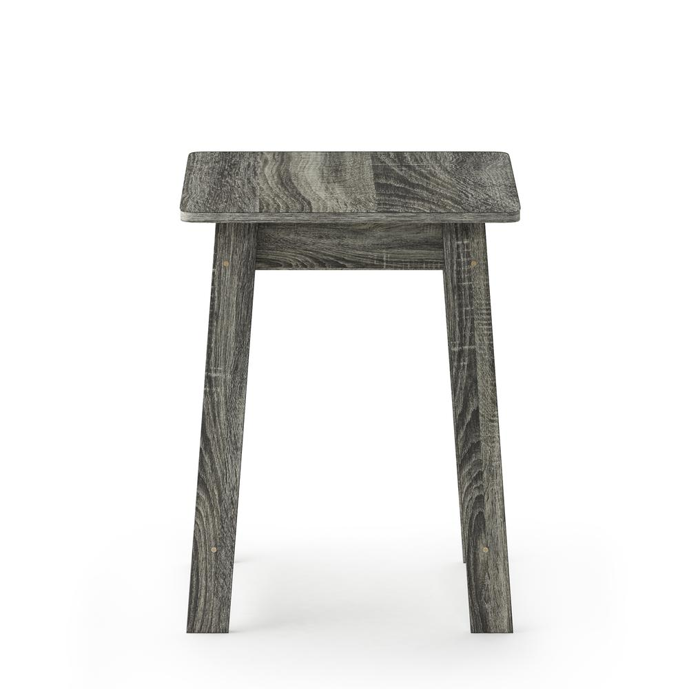 Furinno Beginning End Table, French Oak Grey 18039GYW. Picture 2
